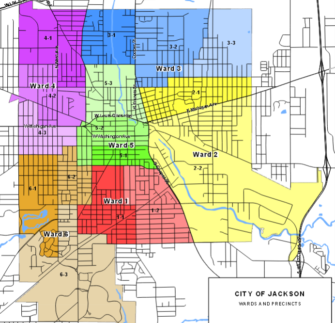 City of Jackson Wards and Precincts