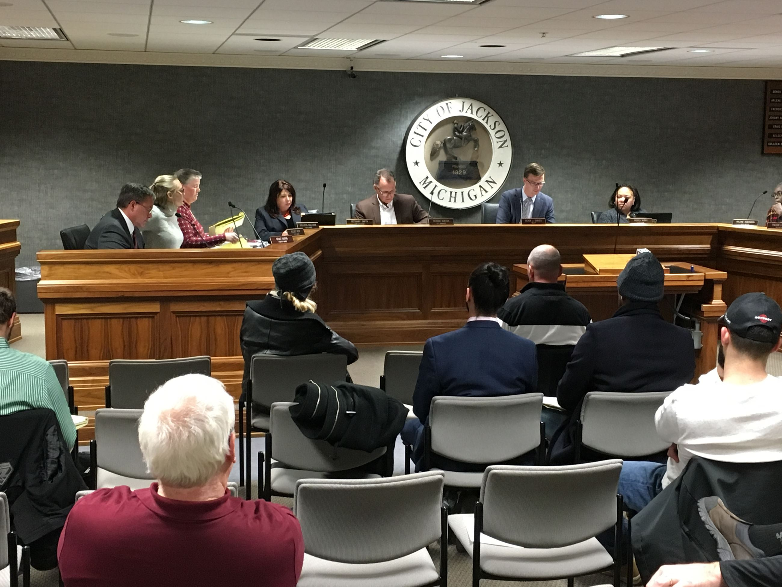 Council meeting 11-27-18