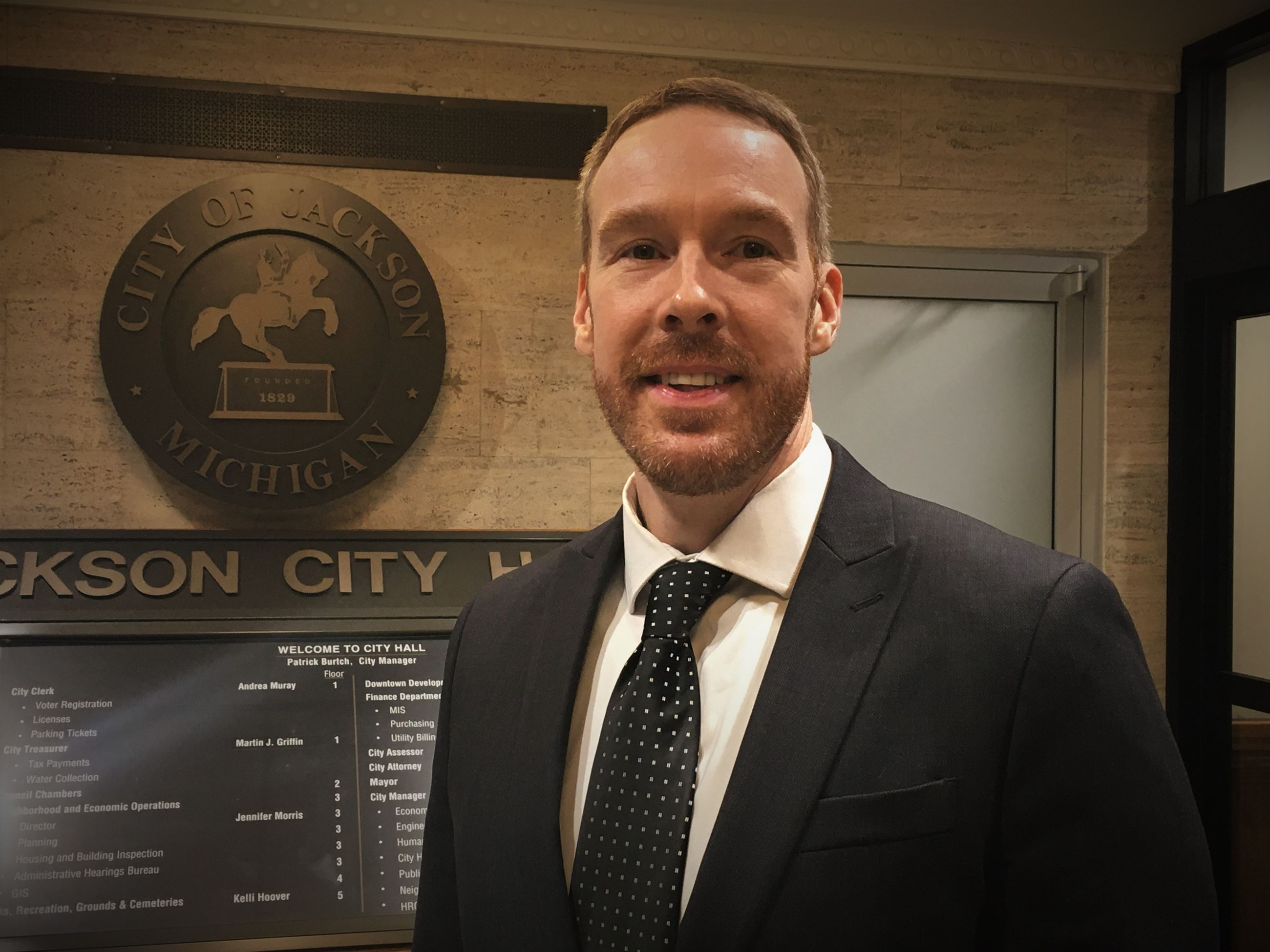 Photo of New Jackson City Attorney Matthew Hagerty