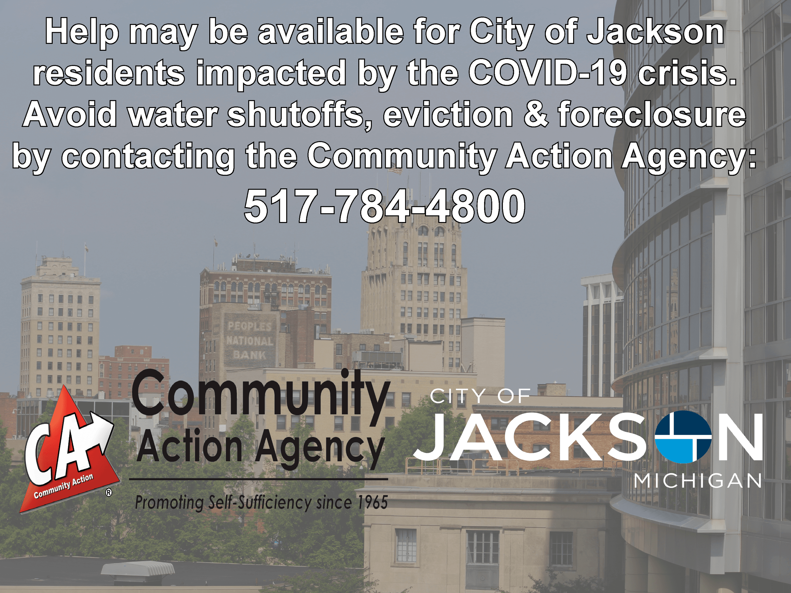 COVID-19 relief for Jackson residents