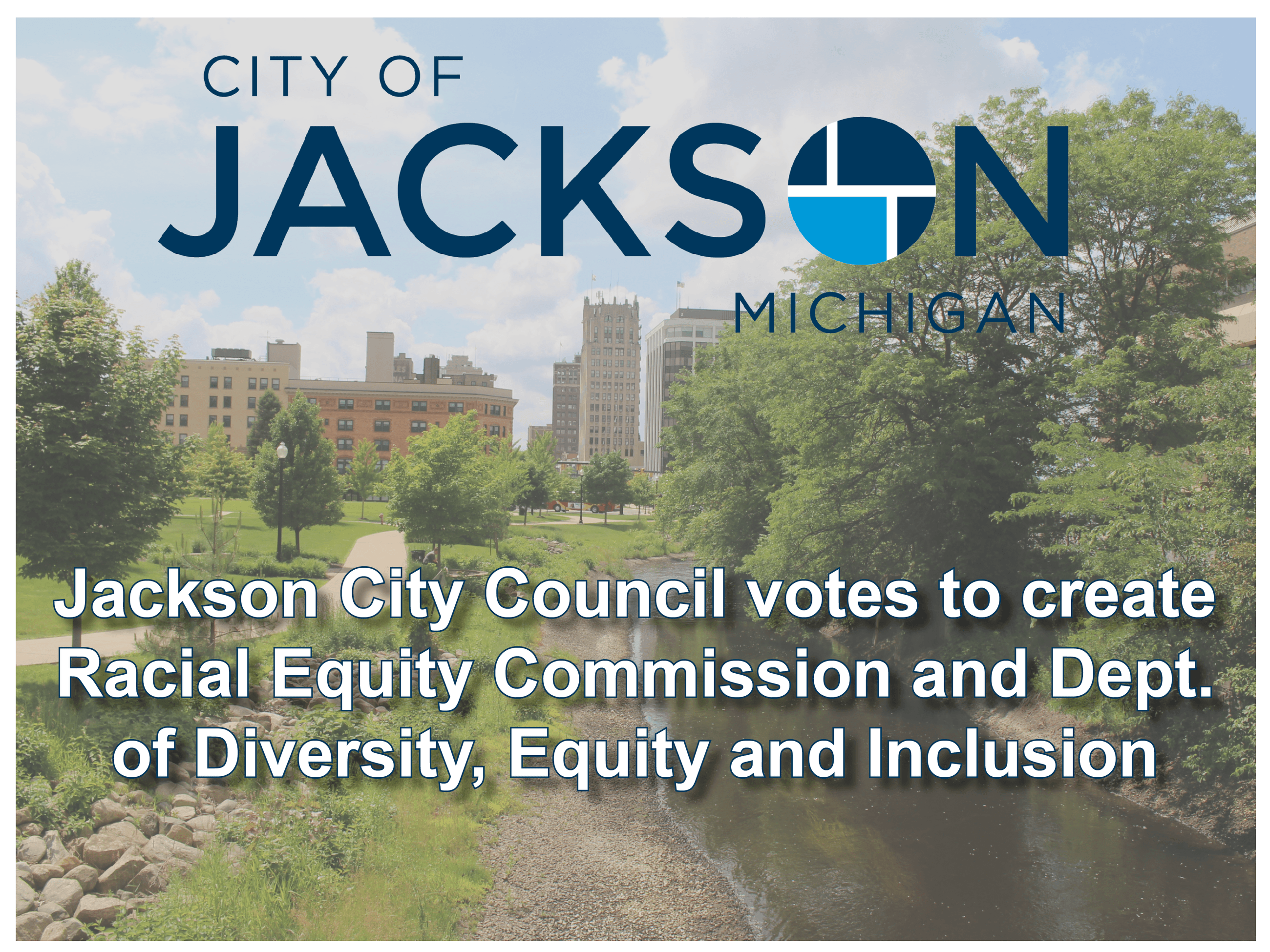 Jackson racial equity efforts graphic