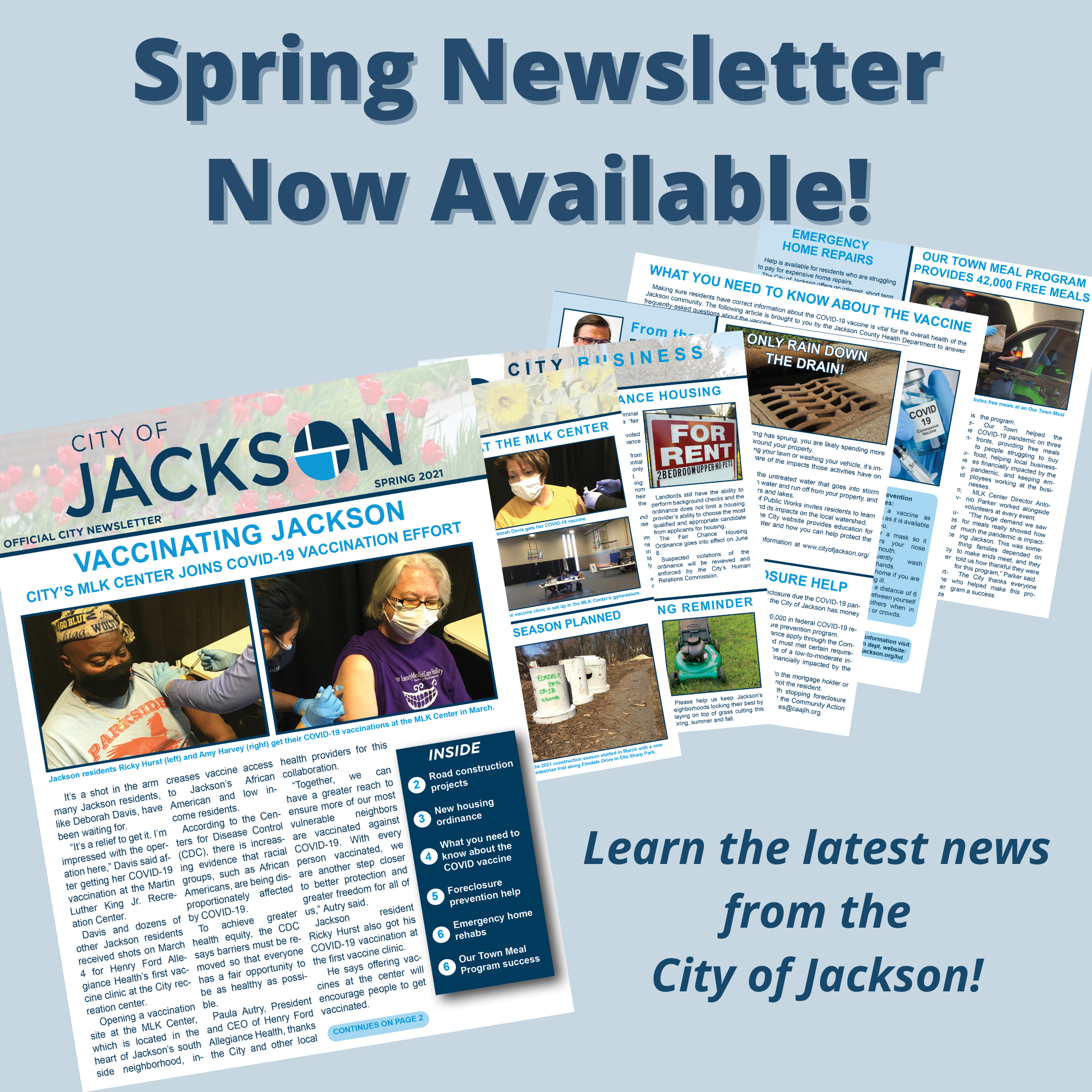Spring Newsletter Graphic