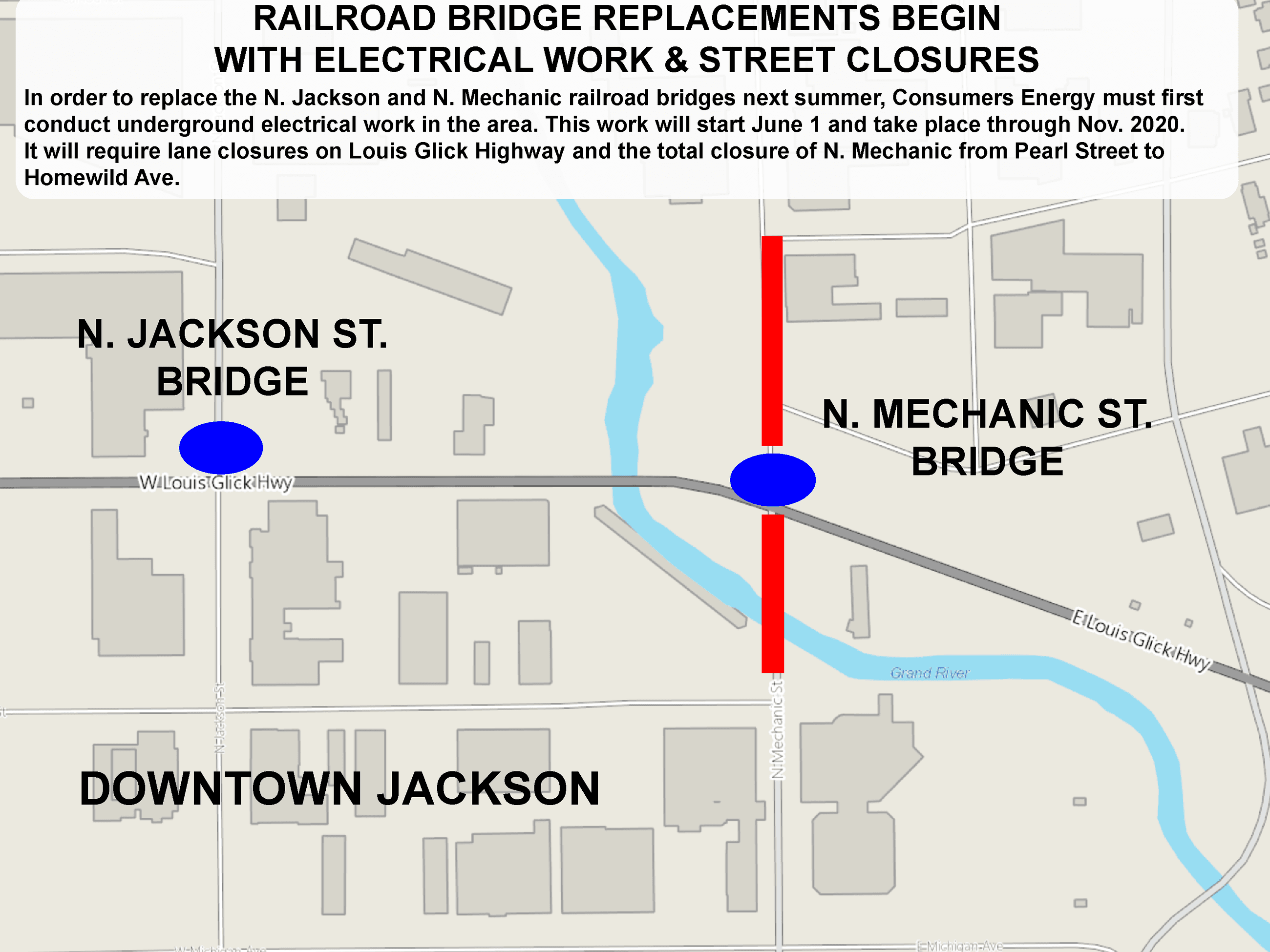 bridge work map